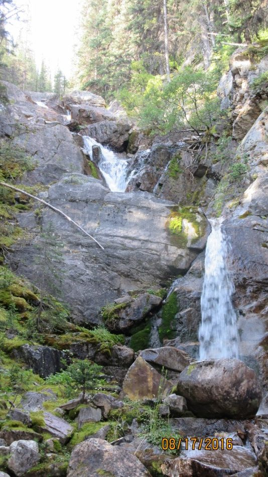 Waterfallalong the creek