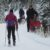 Cross Country Skiing the Great Divide Lake Louise
