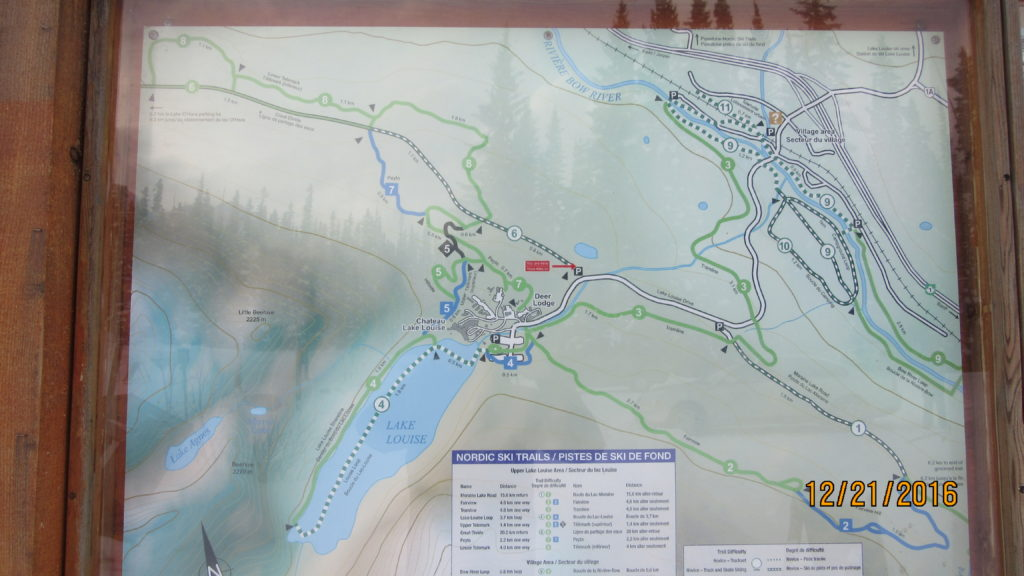 Trail Head Map