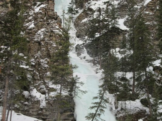 Moonlight Falls Snowshoe