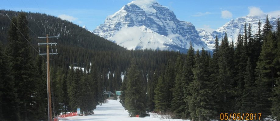 Farewell to Another Season at Lake Louise